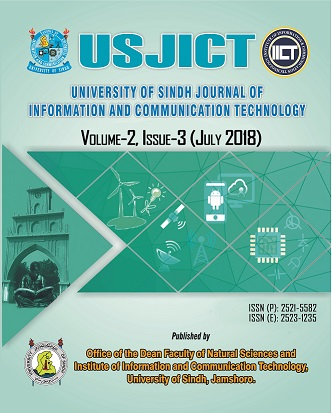 University of Sindh Journal of Information and Communication