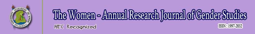 The Women - Annual Research Journal of Gender Studies